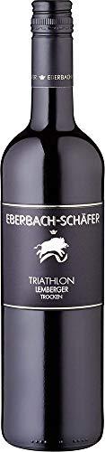 Triathlon-Lemberger-trockenQbA-Eberbach-Schfer-Blaufrnkisch-20142016-trocken-6-x-075-l