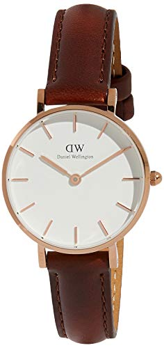 Daniel Wellington Women's Analogue Quartz Watch with Leather Strap DW00100231