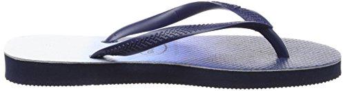 Havaianas Slim Dip Dye, Tongs Femme Multicolore (Navy Blue 0555)