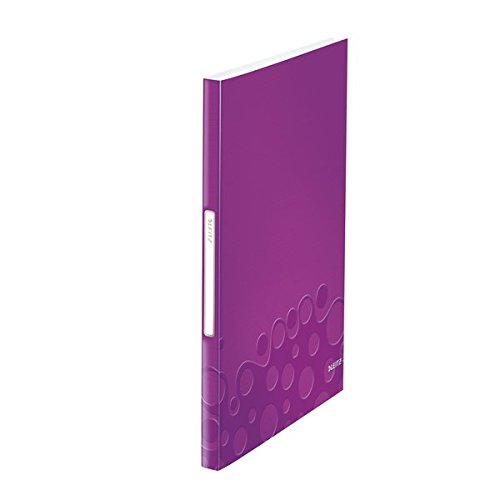 Leitz 46320062 Sichtbuch WOW, A4, PP, 40 Hüllen, violett