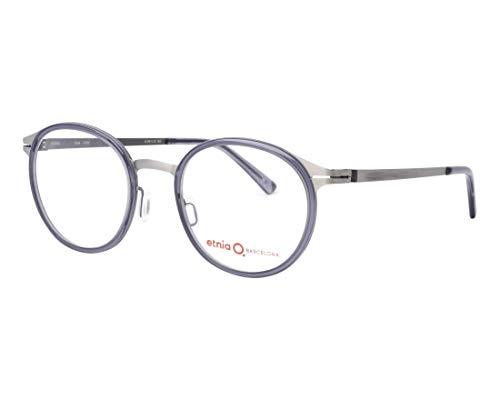 Etnia Barcelona Brille (ULM GYSL) Metall - Acetate Kunststoff matt gun metall - kristall grau