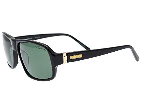 st-dupont-dp7030-noir-en-forme-de-lunettes-de-soleil-avec-verres-gris
