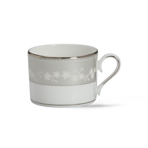 Lenox Bellina Bone China Platinum Banded Cup by Lenox Bellina Cup
