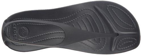 Crocs Sexy 11354, Sandales - Femme Noir (Black/Black)