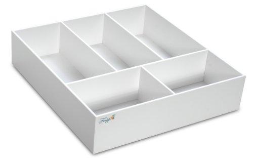 trippnt Tiefe Kunststoff Schublade Organisatoren, mehrere Größen erhältlich, 17.5