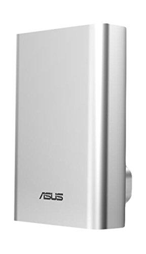 Asus ZenPower Power Bank in Formato Carta di Credito da 10050 mAh, Silver