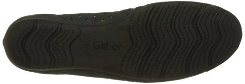 Gabor Fashion, Ballerines Femme Bleu (nightblue 16)