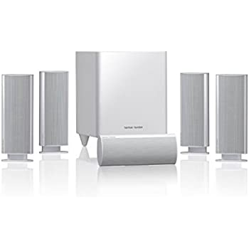 harman kardon home theatre. harman/kardon hkts 30wq complete 5.1 channel surround sound home theatre system - white harman kardon