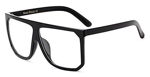 Sonnenbrille Mode In Übergröße Frauen Quadratische Sonnenbrille Designer Classic Sommer Standard Farben Flat Top Frame Brille Schwarz Klar