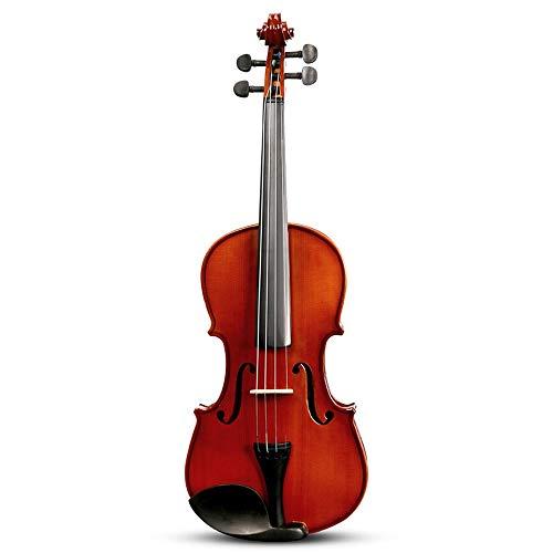 Miiliedy Full Size principiante per adulti bambini in legno massello violino 4/4 Handmade Student Practice Professional Performance Violino acustico Pack con arco, caso duro, colofonia