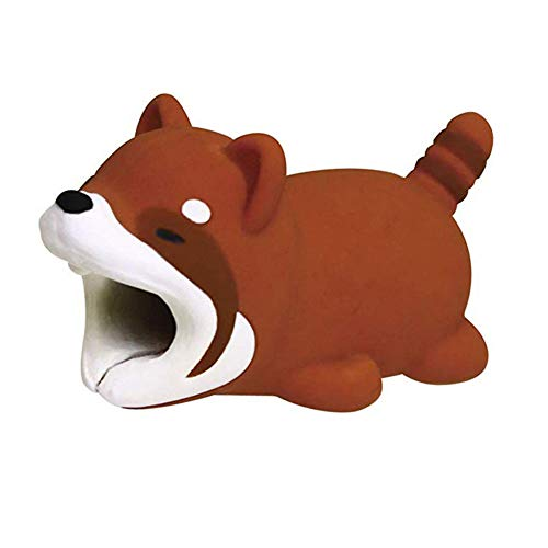Nowbetter Cute Animals Cable Bites USB-Kabelschutz für iPhone/iPad, Bär