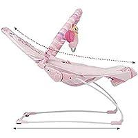 Preisvergleich für Unbekannt Chair Bodyguard Waschbar Multi-Mode-Spielzeug Intelligente Schaukelstuhl Musik Vibration Baby Beruhigende Massage Stuhl Ergonomisches Design,Rosa,Einheitsgröße Massager