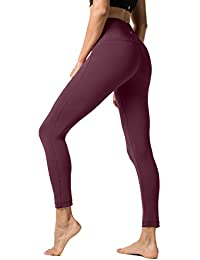 9677b8ed008d9 Lapasa High Waist Leggings Yoga Pants Women s Running Tights Sport  Leggings