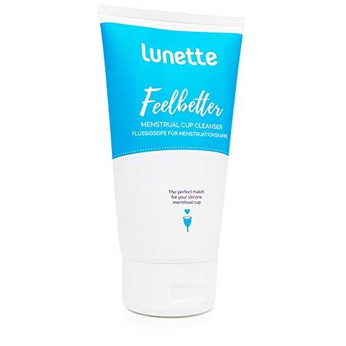 Lunette Feelbetter Flüssigseife für Menstruationstassen, 150 ml
