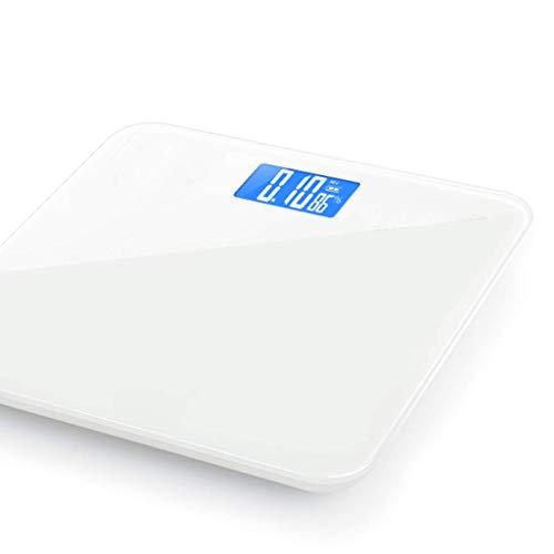 LXRZLS Intelligente Körperfettwaage Elektronische Waage mit LCD-Display, 10 kg / 1 g, Edelstahl Genaue Küchenwaage (Color : White)