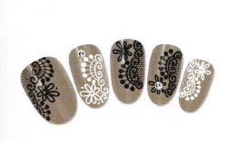 Stickers Water decal Ongles - S044