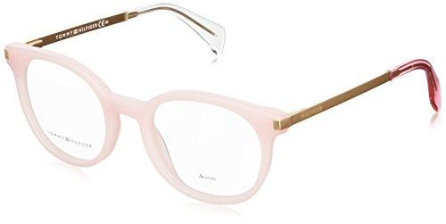 Tommy Hilfiger Unisex-Erwachsene TH 1380 Brillengestelle, Pink, 52