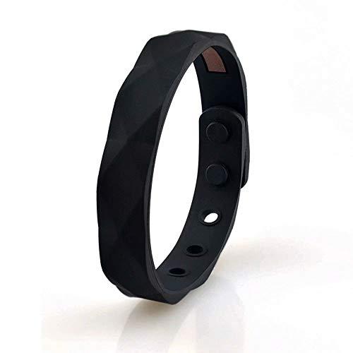 Armband mit Ionen Negativ, wasserdicht, für Damen und Herren, aus Silikon, wasserdicht, Geschenk von Basketball Sport Wristband 13 x 230 mm Modern A