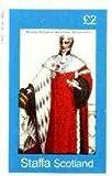 Staffa 1982 French Revolution Costumes #04 imperf dlx sht (£2 value, Primier President de la Cour de Cassation) u/m COSTUMES MILITARIA REVOLUTIONS JANDRSTAMPS (26904)