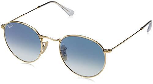 Ray-Ban Herren 0RB3447N 001/3F 50 Sonnenbrille, Arista/Crystalwhitegrad.Blue