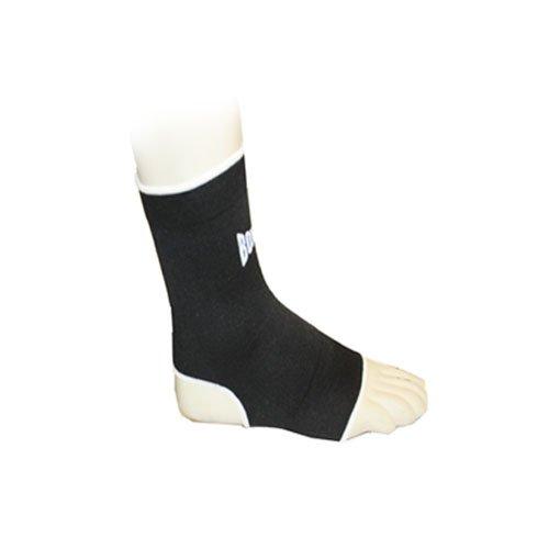 BOX-TEC elastische Fußbandagen Knöchelschutz Gr.M schwarz