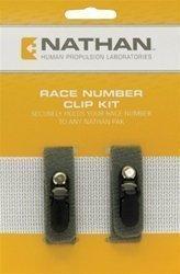 Nathan Startnummernbefestigung Clip Kit