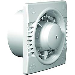 Extractor baño/Cocina/Otros Basic Ø-100 con Higrostato automático Humedad