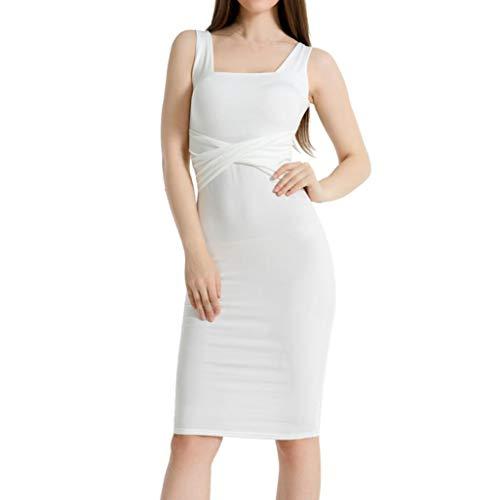 (IMJONO UONQD Damen Pulli Langarm T-Shirt Rundhals Ausschnitt Lose Bluse Hemd Pullover Oversize Sweatshirt Oberteil Tops(EU-40/CN-L,Weiß))