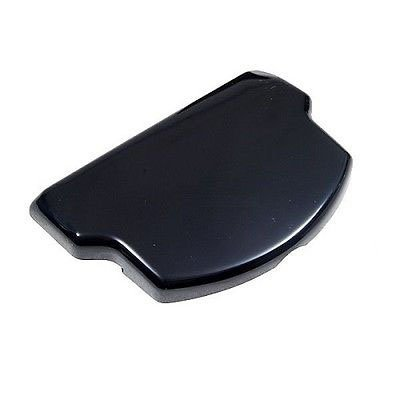 gametown® Schwarz Akku Tür für PSP 20003000Slim Serie Playstation Portable (Tür Psp-akku)