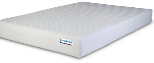 BEDZONLINE 4FT6 Double Memory Foam and Reflex Mattress with border micro quilted exclusive cover to BEDZONLINE
