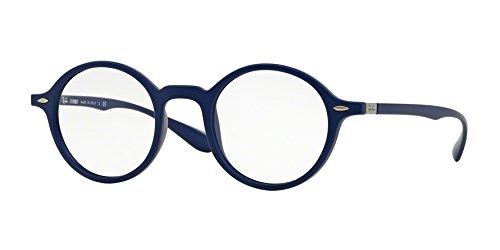 Preisvergleich Produktbild Ray Ban Optical Rx7069 Matte Blue Kunststoffgestell Brillen, 43mm