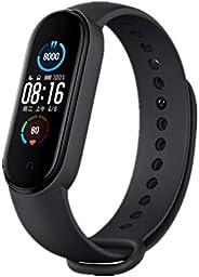 Xiaomi Mi Band 5 Pulsera de Actividad,Monitores de Actividad,Pantalla Pulsómetro Fitness Tracker, Smartwatch c