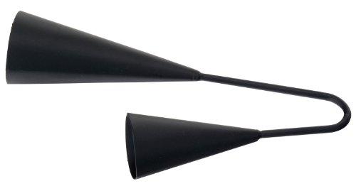 XDrum 231A Agogo Bell Large Schwarz