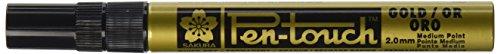 Sakura Pen-Touch GOLD (#51), MEDIUM 2.0mm, Permanent-Marker, 1 Stück