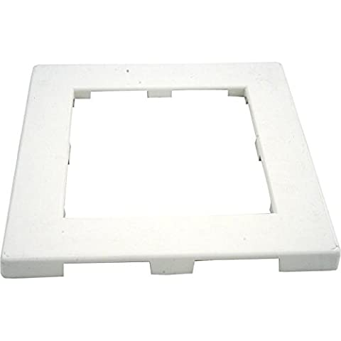 Waterway 519-3090 Front Access Skimmer Faceplate Cover - White