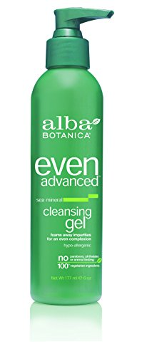 Alba Botanica Cleansing Gel, Sea Mineral, 6-Ounces (Pack of 2)
