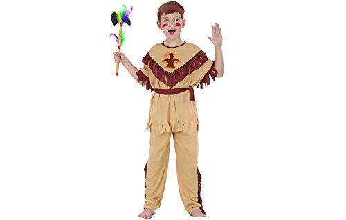 Indianerkostüm Indianer Western Kostüm Jungen Kinderkostüm 3-5 Jahre Gr. S