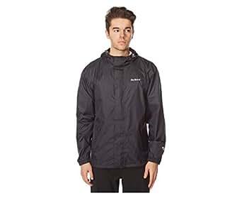 Peter Storm Men's Packable Jacket, Black, XS