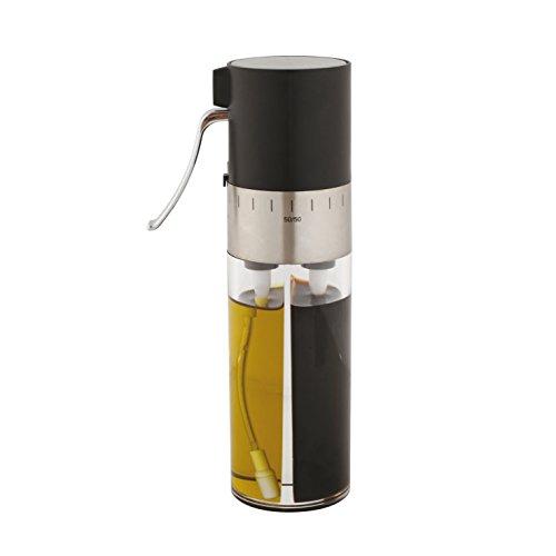 Kitchen Artist MEN286A Vaporisateur huile/vinaigre Transparent/Noir