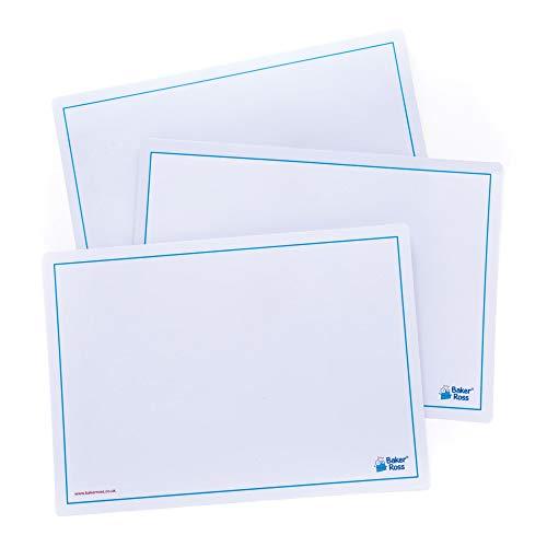 Baker Ross Schreibtafeln zum Abwischen (10 Stück) - für Kinder zum Malen, Schreiben und Basteln