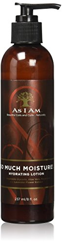 As I Am So Much Moisture Hydrating Lotion, 8 oz by I AM - Aloe Vera Moisturizing Conditioner