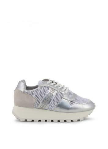 Bikkembergs Scarpe Basse Sneakers Donna Bianco (Fend-ER_2087-MESH)