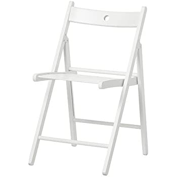 IKEA TERJE - Chaise pliante, blanc