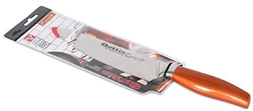 Zassenhaus Couteau Bloc rond rouge avec dessus Flexible soies utilisation