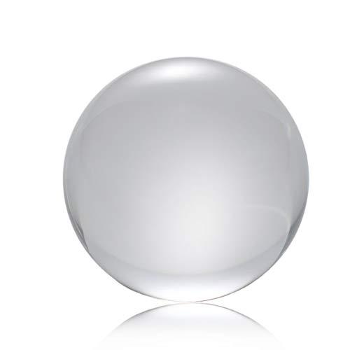 LouiseEvel215 50mm / 80mm / 100mm Kristallkugel Quarzglas Transparente Kugel Kugeln Feng Shui Glaskugel Miniaturen Ornamente Geschenk -