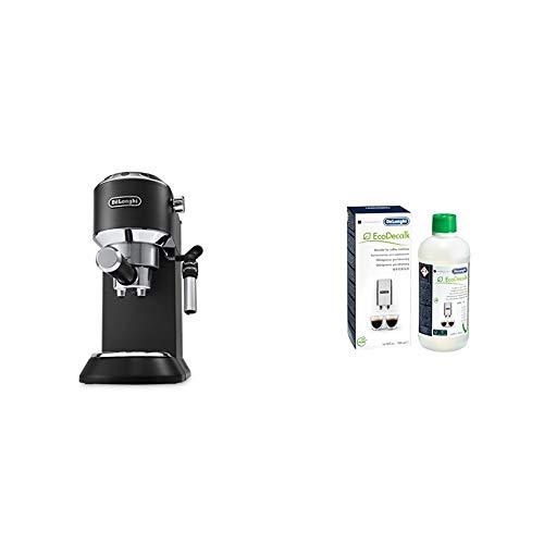 DeLonghi EC685.BK Dedica EC 685.BK Espresso Siebträgermaschine | 15 bar | Professionelle | Schwarz...