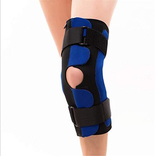 DROHE-Q Sport Knieschoner Knie Kompression Ärmel Unterstützung Klammer Gelenkschmerzen Arthritis Wiederherstellung von Verletzungen Meniskusriss Blau (Single)
