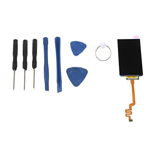 perfk LCD Display und Digitizer Touch Bildschirm für iPod Nano 7, Reparatur Werkzeug Kit - Ipod Touch Digitizer
