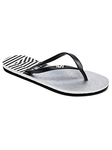 Roxy Viva Stamp - Flip-Flops for Women - Sandalen - Frauen - EU 39 - Schwarz