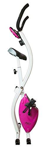 Bodyline X-Bike Butterfly Vélo d'appartement pliable BIANCO - ROSA